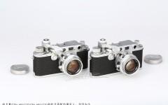 徕卡精品收藏之Ⅲf机镜双连号相机(No.606128/606129)