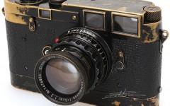 [徕卡博物馆]徕卡珍稀相机收藏之早期MP黑漆版相机(MP-132)