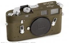 [徕卡博物馆]军事相机M4 Olive(No.1266126)