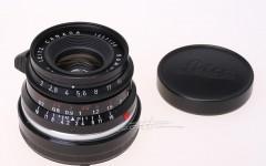 [徕卡博物馆]八枚玉Summicron-M 2/35mm Black(No.1657120)