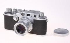 [徕卡博物馆]转换成Ⅲf的徕卡Ⅲc相机(No.369315)