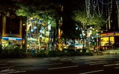 [行旅随拍]胶片摄影之新加坡迷人夜景