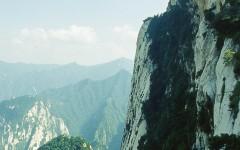 """[行旅随拍]""""奇险天下第一山""""华山风光胶片摄影二"""