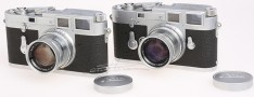 [徕卡博物馆]徕卡M3 Chrome(No.700352,700353)连号相机