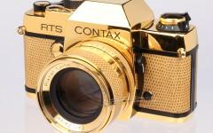 [徕卡博物馆] Contax RTS黄金纪念套机(No.C-80226)