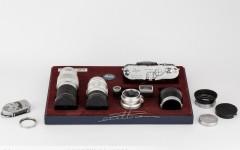[徕卡博物馆]徕卡M3 Chrome(No.1038391)三镜套装