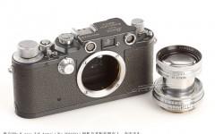 [徕卡博物馆]徕卡IIIc K grey 'US Army'(No.391010)相机