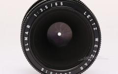 [徕卡博物馆]镜头之美Elmar-M 3.5/65mm Black(No.2457816)