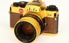 [徕卡博物馆]徕卡R4 Gold Plated(No.1651568)相机