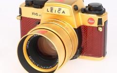 [徕卡博物馆]徕卡R6.2新加坡独立30周年镀金相机(No.2007788)