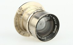 [徕卡博物馆]镜头之美Summar 2/5cm Rigid Nickel(No.167584)