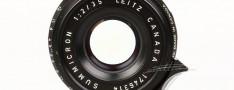 [徕卡博物馆]镜头之美八枚玉Summicron-M 2/35mm(No.1746314)