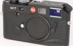 [徕卡博物馆]徕卡M7 0.72 Black(No.2784041)相机