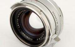 [徕卡博物馆]镜头之美银色钢嘴Summilux-M 1.4/35mm(No.1777815)