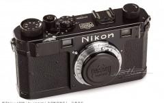 [徕卡博物馆]黑漆Nikon S相机套装(No.6112580)