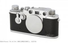 [徕卡博物馆]徕卡Ⅲd Chrome(No.367106)相机