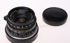 [徕卡博物馆]Summicron-M 2/35mm Black(No.2313826)黑色八枚玉镜头