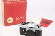 [徕卡博物馆]银铬LeicaflexSL2 50 Jahre(No.1389331)相机