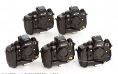[徕卡博物馆]尼康Nikon F4s NASA特别版五连号相机