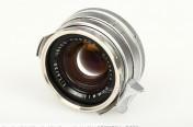 [徕卡博物馆]镜头之美Summilux-M 1.4/35mm Steel Rim Chrome(No.2166519)