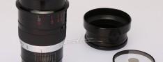 [徕卡博物馆]黑漆Thambar-SM 2.2/9cm(No.375090)镜头