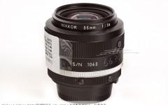 [徕卡博物馆]尼康Nikkor 1.4/35mm NASA特别版镜头(No.1043)