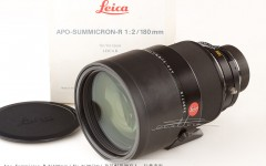 [徕卡博物馆]Apo-Summicron-R 2/180mm(No.3689710)镜头
