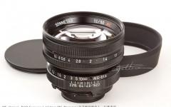 [徕卡博物馆]宫崎光学MS-Optical-R&D Sonnetar 1.1/50mm MC原型镜