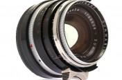 [徕卡博物馆]徕卡Summilux-M 1.4/35mm黑色钢嘴镜头(No.1765699)