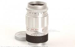[徕卡博物馆]镜头之美Elmarit 2.8/90mm Chrome原型镜(No.0000232)