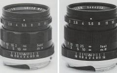 徕卡Summicron 2/50mm镜头五连号