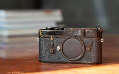 徕卡黑漆M4相机(No.1247030)