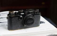 徕卡黑漆Ⅲf 相机(no.822970)