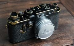 徕卡黑漆Ⅲg '3-Crowns'相机(no.988000)