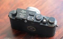 徕卡黑漆Ⅲg '3-Crowns'相机(no.987912)