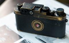 徕卡黑漆Ⅲg '3-Crowns'相机(no.988013)