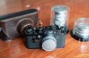徕卡黑漆Ⅲg '3-Crowns'相机(no.987949)
