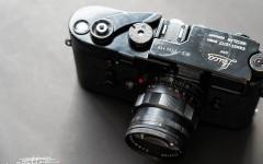 徕卡黑漆M3相机(No.1134110)