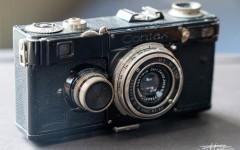 康泰时Contax I 相机+ Tessar 3.5/50mm(No.1377443)
