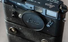 徕卡黑漆M4-M相机(No.1206737)连马达