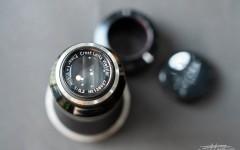 徕卡镜头Elmar-SM 6.3/105mm Black/Nickel(No.136627)