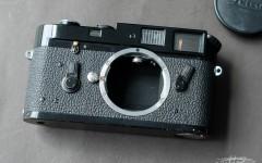 徕卡黑漆M4-M相机(No.1207032)