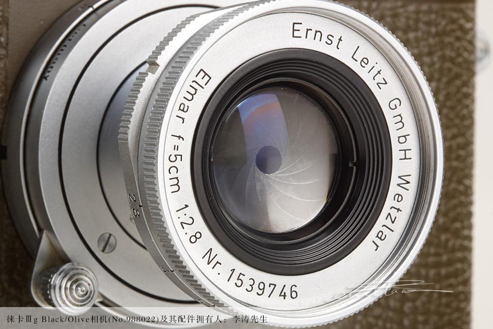 [徕卡博物馆]徕卡军事相机收藏——瑞典军队特供黑漆版Ⅲg相机及其同号橄榄绿色Ⅲg相机-行者李涛