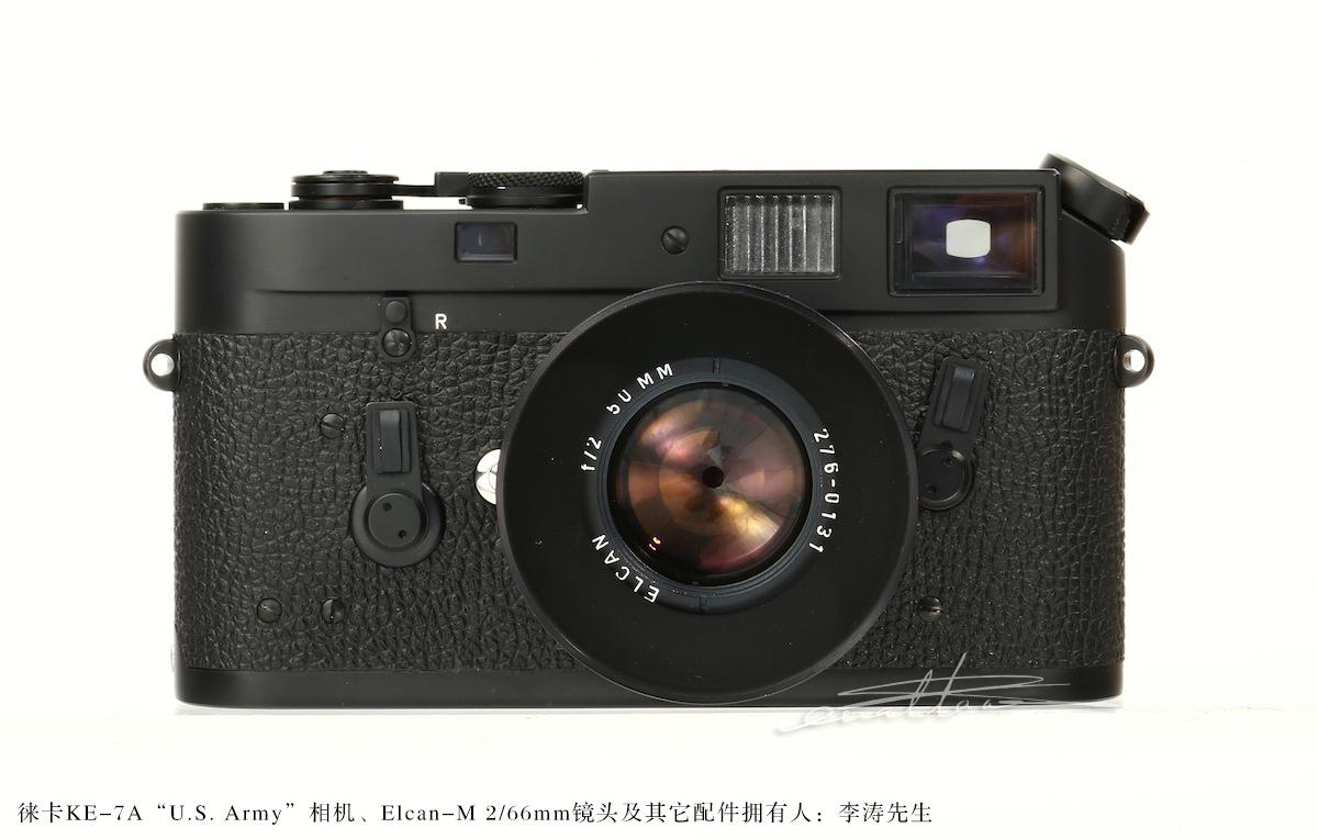 [徕卡博物馆]军事相机之徕卡KE-7A美国军用相机(No.1294687)-行者李涛