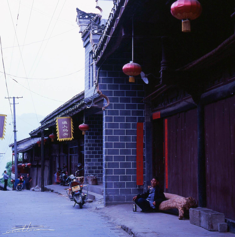 [行旅随拍]胶片摄影之行走山水石泉-行者李涛