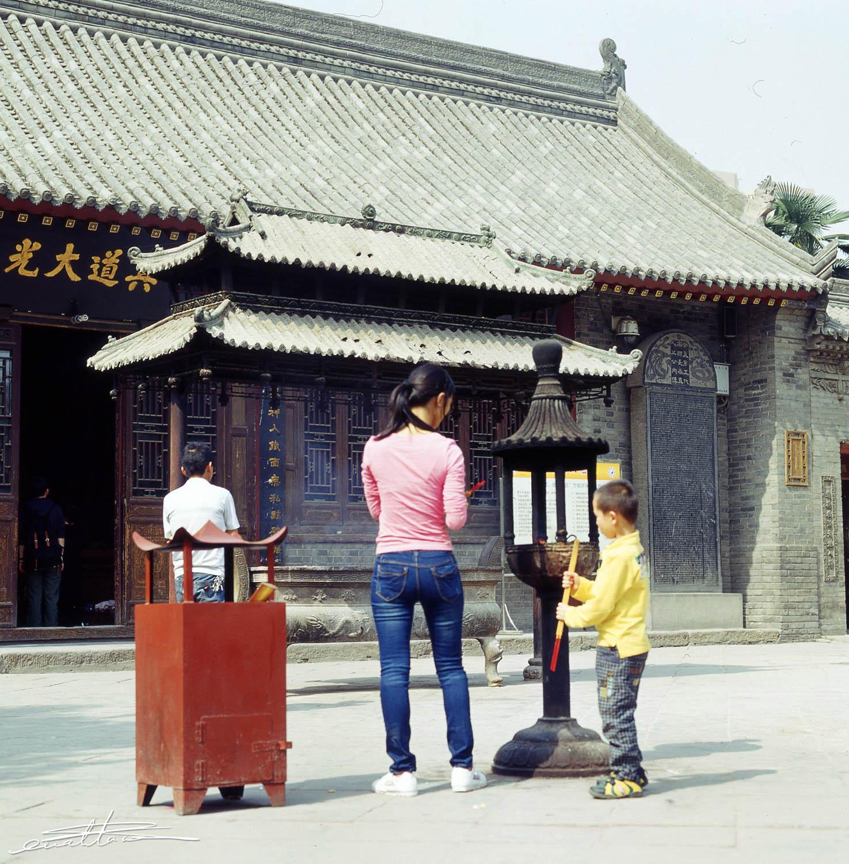 [行旅随拍]胶片摄影之西安八仙宫-行者李涛