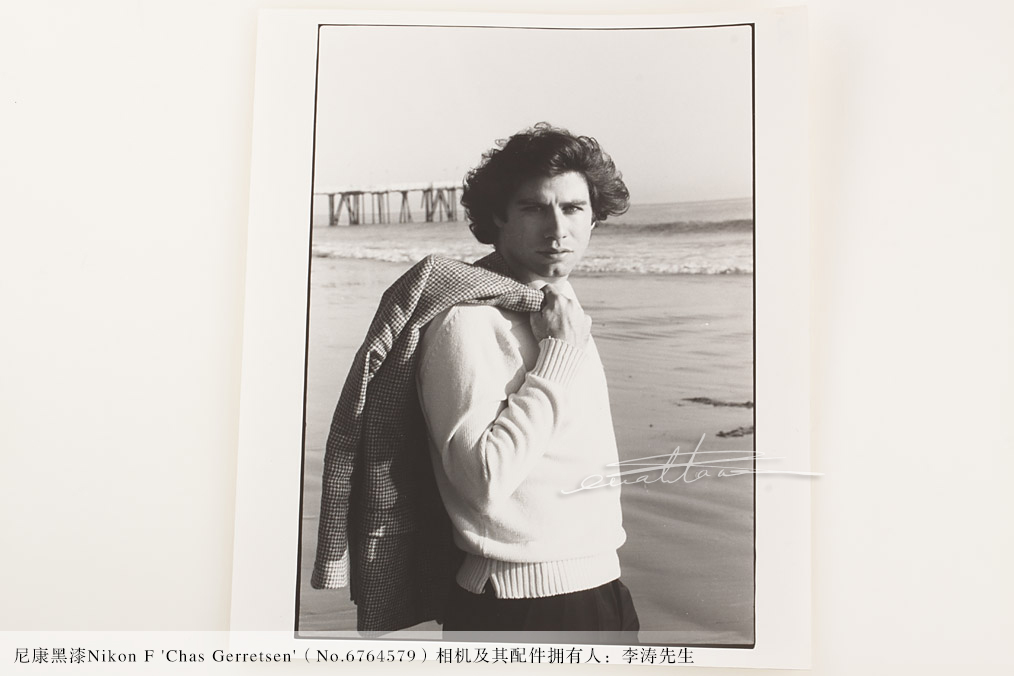 尼康黑漆Nikon F 'Chas Gerretsen'(No.6764579)-行者李涛