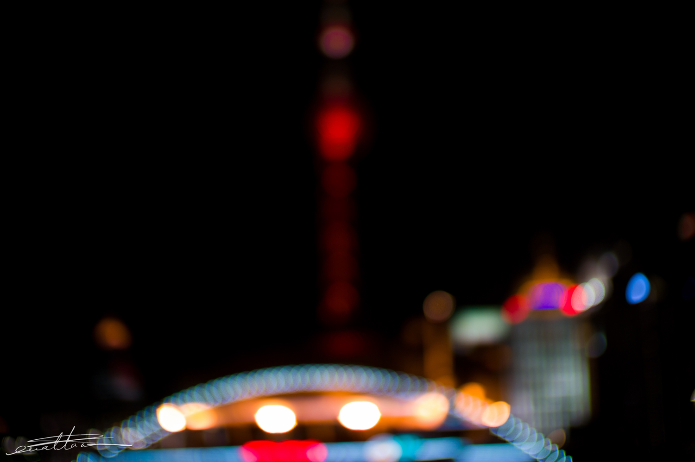 [行旅随拍]夜色迷人上海夜景随拍-行者李涛