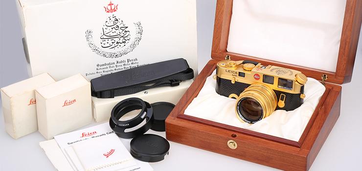 [徕卡博物馆]徕卡汶莱纪念机M6 Gold Sambutan Jubli Perak(No.2001230)
