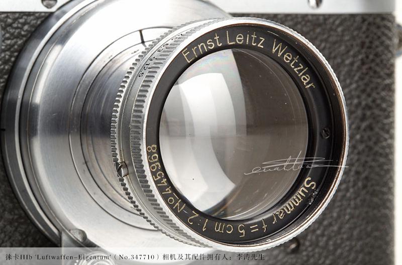 [徕卡博物馆]徕卡IIIb 'Luftwaffen-Eigentum'(No.347710)相机-行者李涛